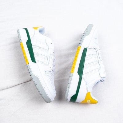 Adidas NEO ENTRAP 網面 透氣 白綠黃 休閒運動慢跑鞋 男鞋 FX3977