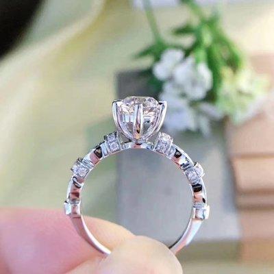 【1.005ct 南非鑽石戒指💍 F-G color, VS級別, 18K白金鑲嵌】珠寶首飾介指吊墜吊咀