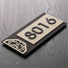 【berry_lin107營業中】定制門牌號樓層牌小區賓館數字貼號碼牌家用亞克力酒店房號牌