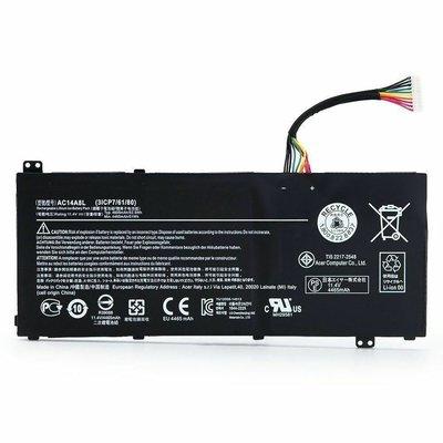 全新原裝宏基Acer暗影Aspire VN7-571 VN7-591G 592G 791 AC14A8L電池