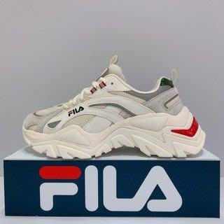 5號倉庫 女 復古 穿搭 潮流 老爹鞋 FILA 4-C107V-926 (F62) 奶油灰綠 原價2480 現貨
