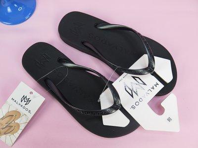 【iSport愛運動】MALVADOS 夾腳人字 涼拖鞋  10011208 女款 金屬色 PLAYA- CORE