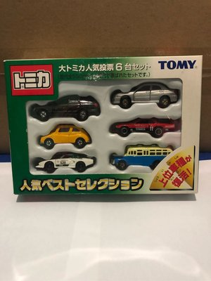 Tomica車仔 投票名氣車 box set Skyline WSX GTR Nissan Toyota