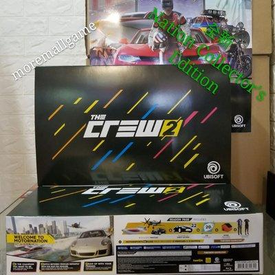 全新PS4 飆酷車神2 The Crew 2 行貨中英文版 Nation Collector,s Edition