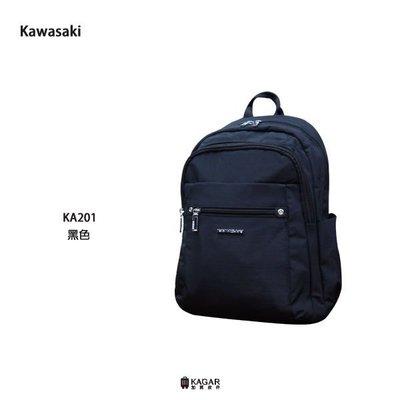 加賀皮件 KAWASAKI 輕量 多色 10吋平板 休閒後背包 男包 女包 後背包 KA201