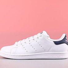 D-BOX  Adidas ORIGINALS STAN SMITH 板鞋 史密斯 藍尾 白色 經典 M20325