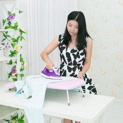 燙衣板 迷你燙衣板臺式熨衣板家用折疊熨斗板燙衣服熨衣墊小號電熨斗燙凳XC
