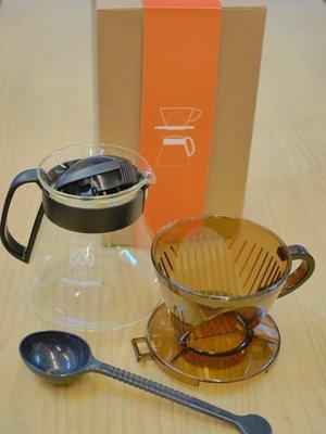 【里德咖啡烘焙王】102 手沖  咖啡 濾杯壺組  WG016