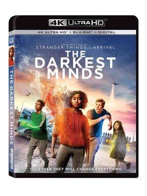 毛毛小舖--藍光BD 闇黑之心 4K UHD+BD 雙碟限定版 The Darkest Minds