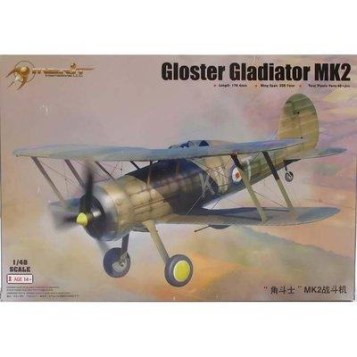 Merit 1/48 GLADIATOR 英國空軍 角鬥士 MK2 戰鬥機 (64804)