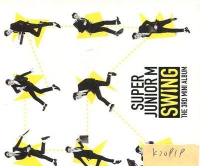 *真音樂* SUPER JUNIOR M / SWING 二手 K20919