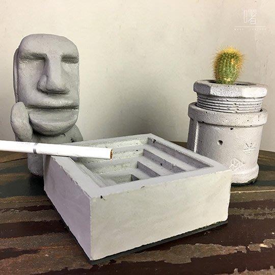 【曙muse】階梯形方盤 水泥置物架 書桌擺飾 Loft 工業風 咖啡廳 民宿 餐廳 住家 設計