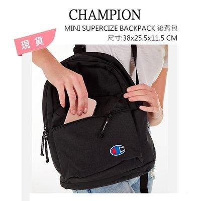 【Drawer】CHAMPION MINI SUPERCIZE BACKPACK 後背包 黑色 冠軍 背包 美國代購