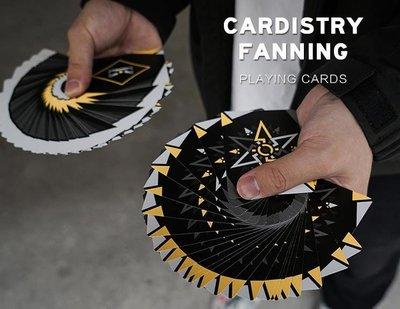 [fun magic] Fanning花切撲克牌 花切撲克 花切牌 花切專用牌 黃色Fanning撲克牌
