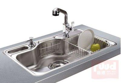 【路德廚衛】ENZIK sink韓國不鏽鋼水槽 DJIS-850P 吸音處理不鏽鋼水槽 附贈配件