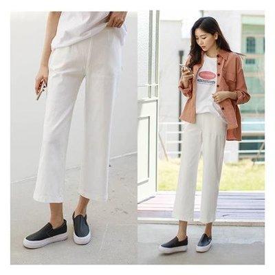 ♥鬆緊褲頭~完美靴型褲4色♥【kr6216】