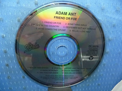 [無殼光碟]KP ADAM ANT  FRIEND OR FOE