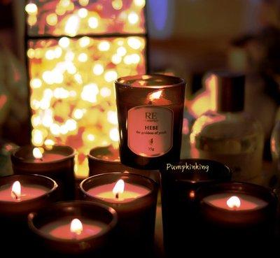 專屬彩妝系列平價香薰蠟燭 RE調香室 35G迷你裝 女神與地標系列多款 贈RE香水