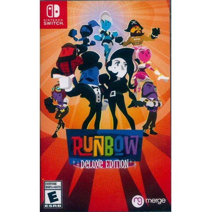 (現貨全新) NS Switch 彩色跑酷 豪華版 英文美版 Runbow Deluxe Edition