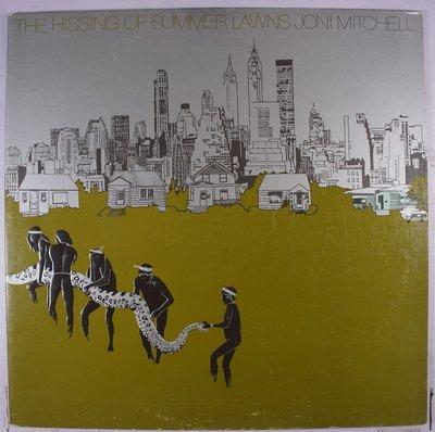 《二手美版黑膠》Joni Mitchell – The Hissing Of Summer Lawns