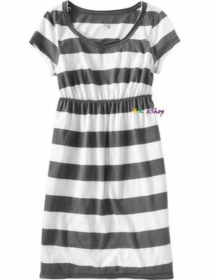 【美衣大鋪】☆ OLD NAVY 正品☆Raw-Hem Jersey Dresses 條紋洋裝