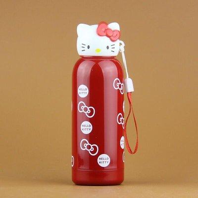 全新Hello Kitty 頭不銹鋼保溫杯 貓可愛卡通保溫杯
