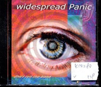 *真音樂* WIDESPREAD PANIC / DON'T TELL THE BAND 二手 K15280 (封面底破)