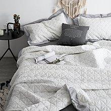 毛毯 沙發毯 空調毯 棉毯 加厚全棉絎縫被水洗棉床蓋三件套被單件純棉夏涼被空調被北歐ins風