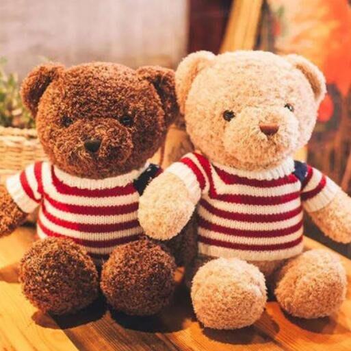 泰迪熊小熊公仔 婚禮小物 毛絨玩具 熊抱抱熊布娃娃抱枕生日禮物 送女友情人節禮物 聖誕節交換禮物—莎芭