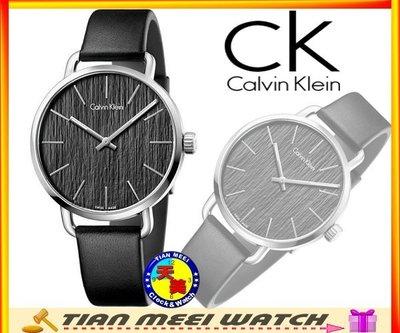【天美鐘錶店家直營】【全新原廠CK】【下殺↘超低價有保固】CK Calvin Klein 時尚皮帶男錶-K7B211C1