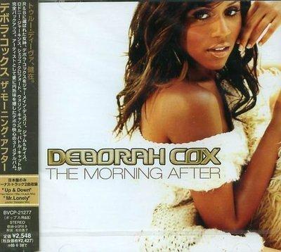 K - DEBORAH COX - THE MORNING AFTER - 日版 CD+2BONUS - NEW