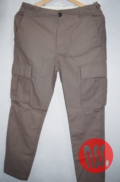【NSS】NIKE  NSW TWILL CARGO PANTS 六口袋 窄版 工作褲 485072