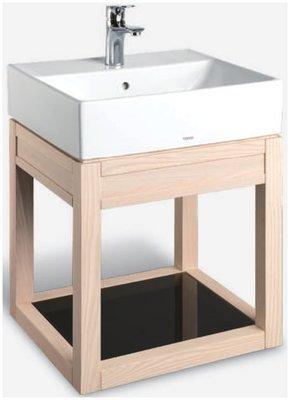 TO-710SA(栓木) TOTO專用臉盆浴櫃 合TOTO-L710CGUR瓷盆 開放浴櫃
