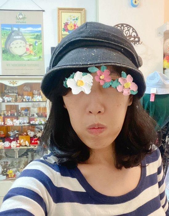 美家園日本生活館 日本帶回 毛呢報童帽 可調帽圍