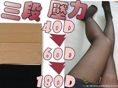 J-3健康彈性絲襪【大J襪庫】透明絲襪-縮腹-束腹提臀-180丹尼-60Den-40丹尼加壓力襪-空氣絲襪-不勾絲彈性