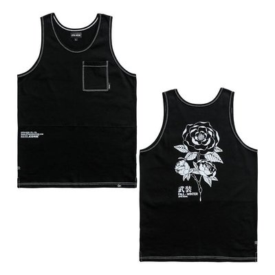 [CAPTAIN HOOK] 18' CAMELLIA TOP (黑) -M L- 「Parody」經銷