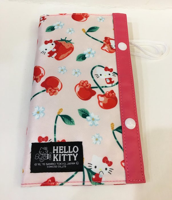 ^燕子部屋 ^三麗鷗正版【Hello Kitty 】可愛草莓旅用多功能夾-粉色(特價)