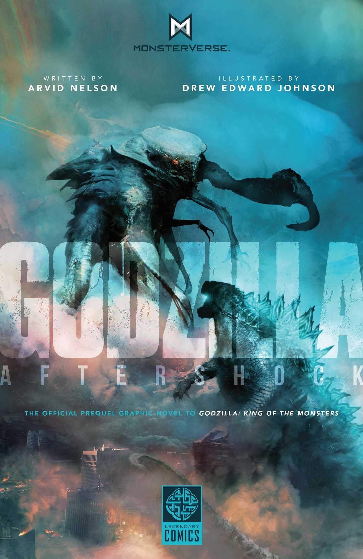 [代訂]哥吉拉 前傳漫畫 餘震 Godzilla Aftershock 9781681160535