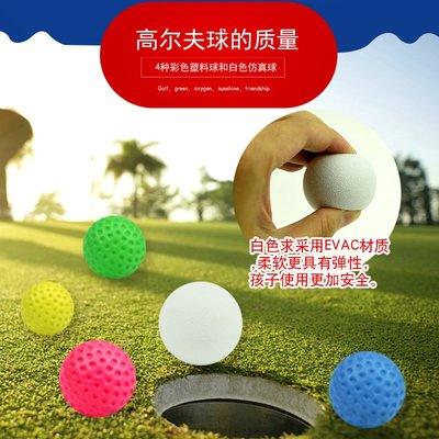 轻奢兒童高爾夫球桿套裝寶寶戶外親子室內運動體育幼兒園球類玩具3歲小草