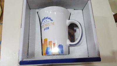 台灣啤酒-極賞馬克杯 全新品.金牌啤酒