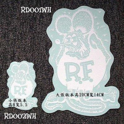 (I LOVE樂多)原版RAT FINK RF老鼠芬克 白色大張