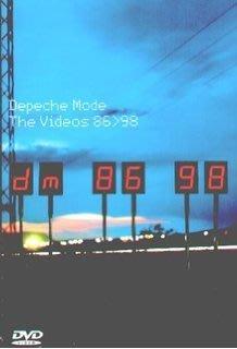##80 DVD  全新進口 Depeche Mode / The videos 86-98 全23曲