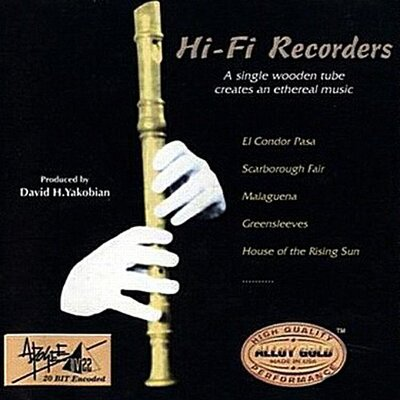音樂居士*David H.Yakobian - 牧童笛 Hi-Fi Recorders*CD專輯