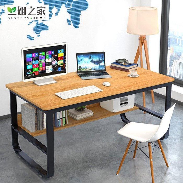 電腦臺式桌家用辦公桌學生寫字臺書桌簡約現代經濟型桌子