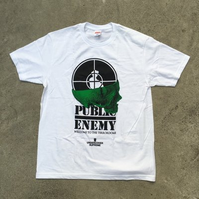 ☆LimeLight☆Supreme x Undercover Public Enemy Terrordome Tee