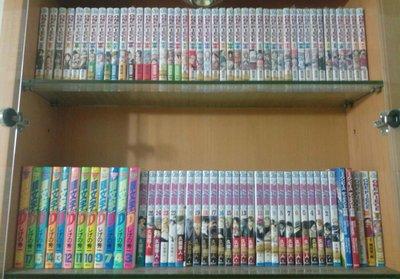 日文漫畫,海賊王、死神、頭文字D、第一神拳、灌籃高手