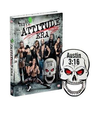 ☆阿Su倉庫☆WWE摔角 The Attitude Era Hardcover Book WWF輝煌年代全紀錄精裝本