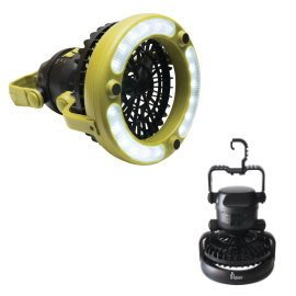 大營家購物網~DJ-7383 探險家風扇LED露營燈