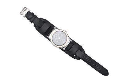 邁刻時 22MM真皮表帶LG G Watch W100,W110,W150 urbane替換表帶