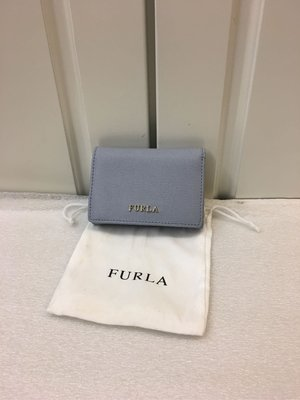 🈹️🈹️400# 100% NEW FURLA 紫色真皮短身銀包 100%真貨 ($1500包郵,不退換)(特別色)